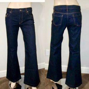 RED Valentino Dark Wash Flate Jeans 29